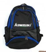 balo-cau-long-kawasaki-den-xanh