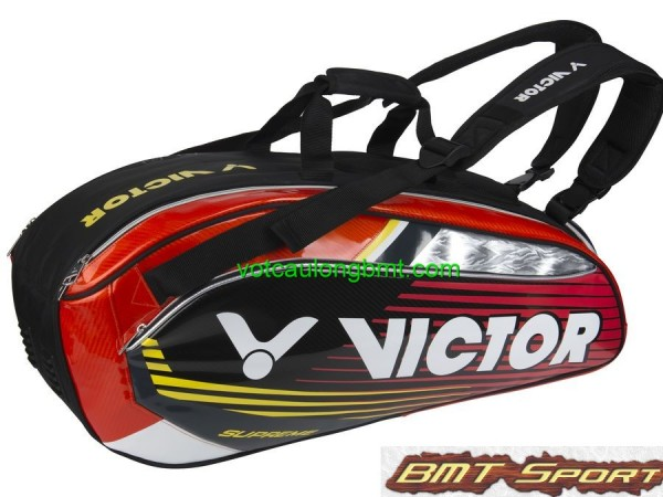 Túi cầu lông Victor 9207 Đỏ Đen