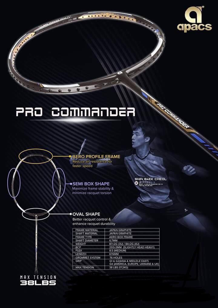 Vợt cầu lông Apacs Pro Commander