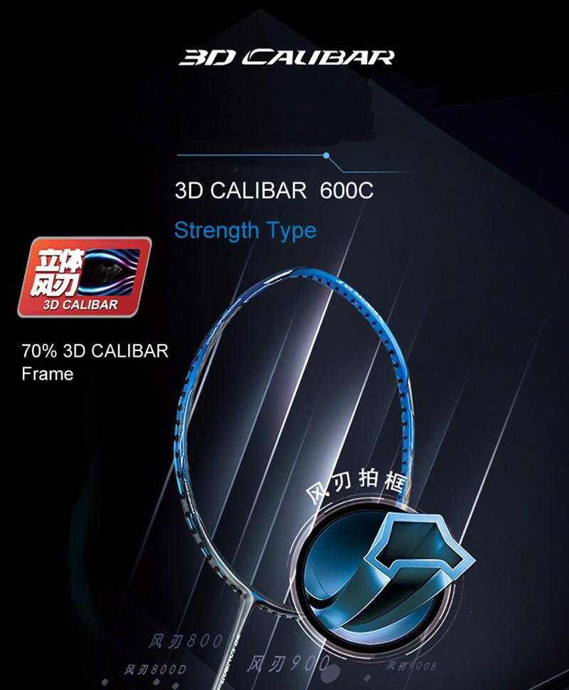 Vợt cầu lông Lining Calibar 600C