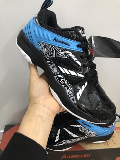 Giày cầu lông kawasaki K080 Xanh Đen