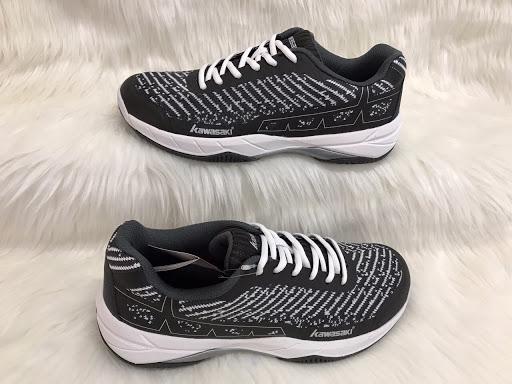 Giày cầu lông kawasaki K353 Đen trắng