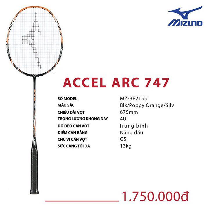 Vợt cầu lông Mizuno Accel Arc 747